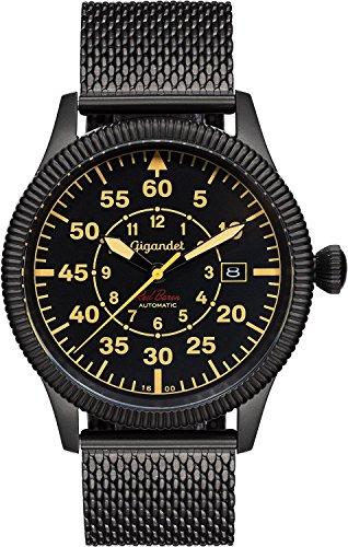 Gigandet Red Baron I Reloj Volantes Automático Analógico Hombre Negro Beige G8-011