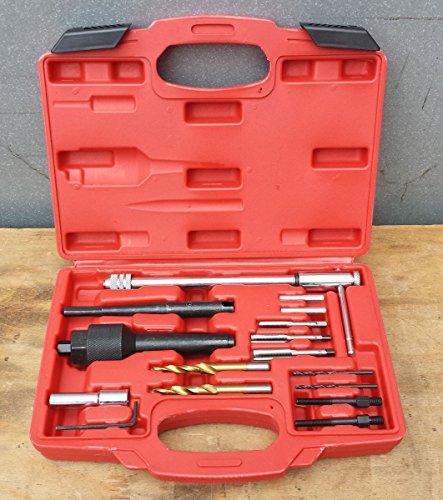 16pezzi–kit cambio riparazione Set di attrezzi Candelette M8M10candele