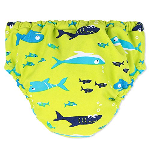 HUANQIUE-Infant-Baby-3Month-3Years-Cartoon-Cotton-Underwear-Kid-Training-Pants-Waterproof-Elasticated-Diaper-Nappy-Resusable-Washable