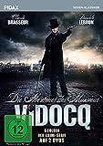 Die Abenteuer des Monsieur Vidocq / 6 Folgen der Krimi-Serie mit Claude Brasseur (Pidax Serien-Klassiker) [2 DVDs]