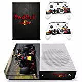 Xbox ONE S SLIM Vinyl Skin Sticker Autocollant pour Console & 2 Xbox Manette Formula 1 F1 Red Bull RB14 Racing