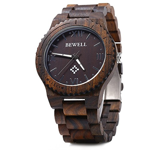 bewell-wood-men-quartz-watch-roman-numeral-scales-ebony-wood