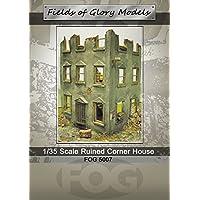 FoG models Diorama Kit Ruines maison d'angle modèle militaire - Échelle 1/35