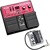 Boss RC-30 Dual Loop Station Pédale + FS-5U Interrupteur de pied + câble patch Keepdrum 30 cm