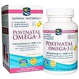 NORDIC NATURALS POSTNATAL OMEGA-3 Lemon,...
