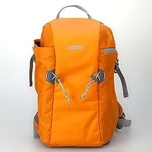 Andoer ® CADeN E5 Sac à dos polyvalent résistant à l'eau pour appareil photo-Avec sac-Housse de protection rembourrée en Nylon avec doublure intérieure Velcro Coton Housse légère et réglable pour Canon Nikon Sony DSLR