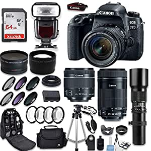 Amazon.in  Buy Canon Eos 77D DSLR Camera Kit Online at Low Prices in ... fde419c3c