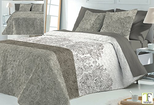 Colcha Bouti Larisa Beige cama 135
