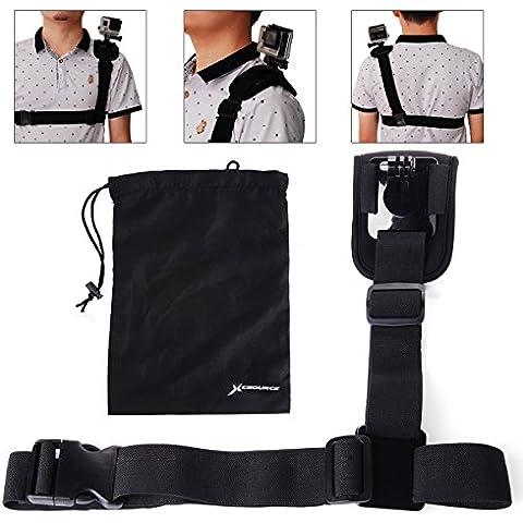 lesuzza (TM) Spalla Imbracatura Petto Cinghia + Borsa Kit accessori
