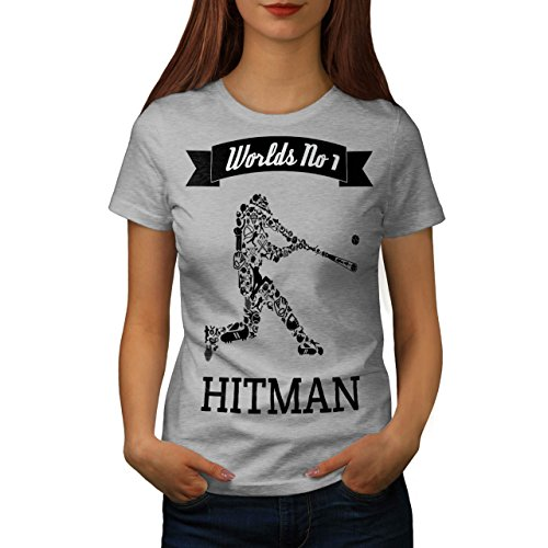 Welten Beste Killer Sport Damen S-2XL T-shirt | Wellcoda Grey