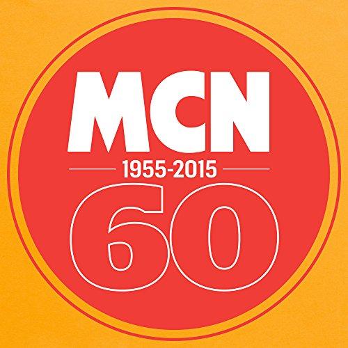 MCN 60th Anniversary T-Shirt, Herren Gelb