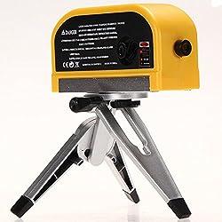 Generic Lv08 Horizontal Vertical Line Measure Laser Level Measuring Tape Tester With Tripod