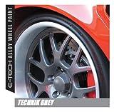 Auto Inpart E-Tech, vernice tecnica grigio antracite per rinnovare i cerchi in lega, resistente alla scheggiatura
