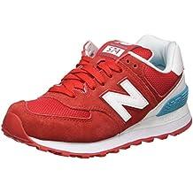 new balance 574 rojas mujer