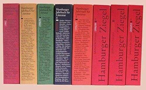 Ziegel - Hamburger Jahrbuch für Literatur: Hamburger Ziegel, Jahrbuch für Literatur, Bd.6, 1998/99