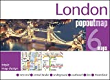PopOut Map London Triple: 3 PopOut maps in one handy, pocket-size format