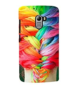 Girl with Coloured Hair 3D Hard Polycarbonate Designer Back Case Cover for Lenovo Vibe K4 Note :: Lenovo K4 Note A7010a48 :: Lenovo Vibe K4 Note A7010 :: Lenovo Vibe X3 Lite