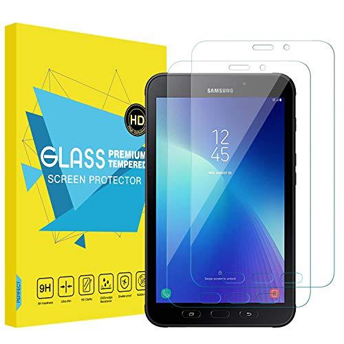 """MoKo [2 Stück Folie HD 9H Panzerglas Displayschutzfolie Glas Displayschutz Glasfolie Screen Protector Perfekt für Samsung Galaxy Tab Active 2 8.0\"""" Tablet - Transparent"""