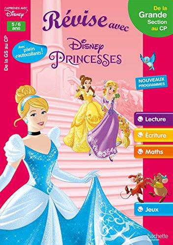 Révise avec les Princesses de la GS au CP - Cahier de vacances