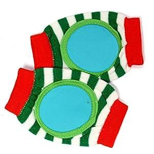 Baby Bucket Soft Cotton Knee Pad (Green)