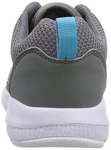 Kappa SPEED II Footwear unisex, Low-Top Sneaker unisex adulto Grigio (Grau (1663 grey/aqua))