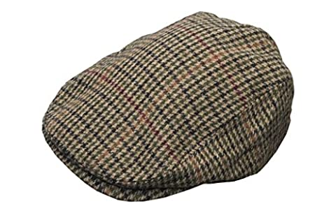 Walker & Hawkes - Uni-Sex Country Wool Flat Cap -