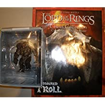 Lord of The Rings - Lord of the Rings El Señor de los Anillos pieza de Ajedrez ESPECIAL ARMOURED TROLL