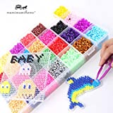 Juguetes Perler Beads 5mm 28 colores de las PC 18000 Box Set (3 + 5...