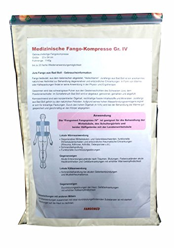 Fangomed Fangopress Gr. IV - Großflächige Fango Kompressen bei Wirbelsäulen-, Hüft- und Gelenkschmerzen