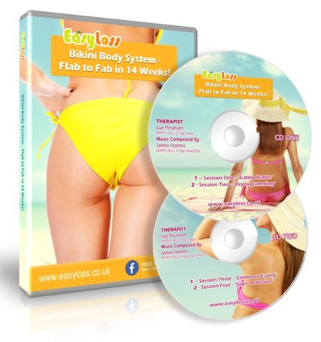 Bikini Body System - Flab to Fab in 14 Weeks! (Weight Loss Hypnosis) by Sue Peckham & James Holmes (2013-08-03)