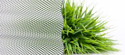 Lichtplatte | Wellplatte | Lichtwellplatte | Material Acrylglas | Profil 76/18 | Breite 1045 mm | Stärke 4,5 mm | Farbe Perlgrim Grau | Wabenstruktur