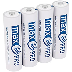 ANSMANN Akku Batterie Wiederaufladbar Mehr Power 2100 Zyklen