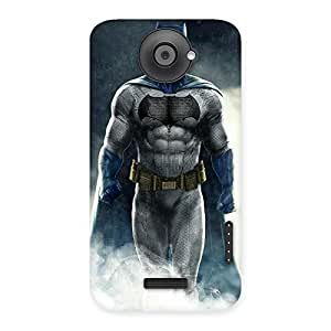 Impressive Blue Knight Walk Back Case Cover for HTC One X