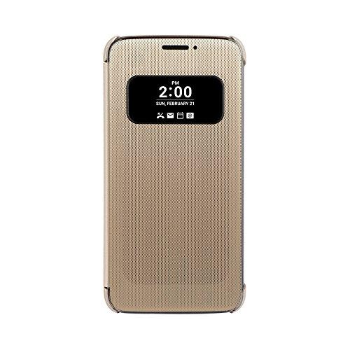 Mesh Folio Cover Handyschutzhülle für LG G5 Gold