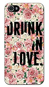 EVETANE - Coque Drunk in Love pour Apple iPhone 5/5S