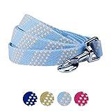 Blueberry Pet Handwerker Crochet inspiriert Endless Squares Hundeleine, 4Farben, passendes Halsband und Hundegeschirr separat erhältlich