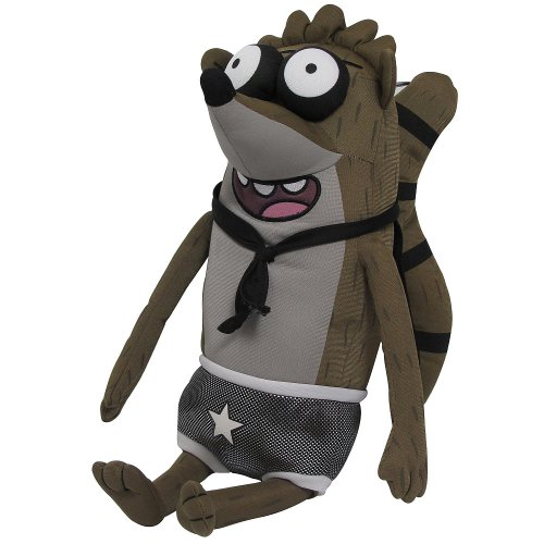 Regular Show Wrestling Buddies - Rigby  - With Sound