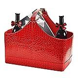 Die besten Schokolade Geschenkkörbe - Colinsa Waterproof Gift Storage Basket für Urlaub Wein Bewertungen