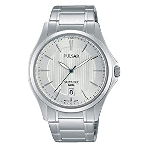 Pulsar Herren-Armbanduhr Analog Quarz Edelstahl PS9383X1