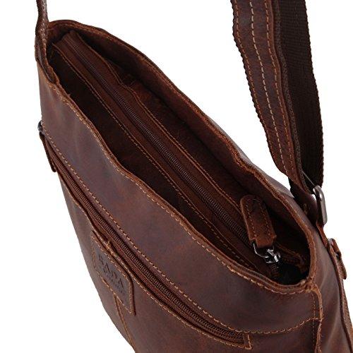 b80b8f294f17b ... Rada Nature Umhängetasche  Hervey Bay  echt Leder Handtasche in  verschiedenen Farben Khaki ...