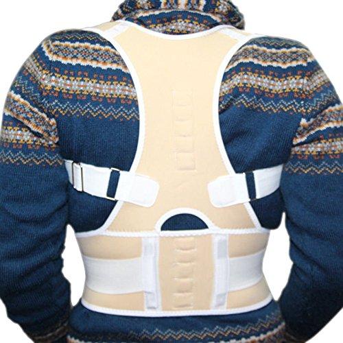 G-Smart - Corrector de espalda, magnético, ajustable, ideal para corregir la postura