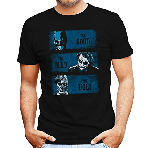 Dark Knight The Good The Bad And The Ugly Men's T-Shirt