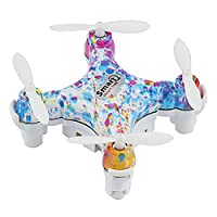 2.4GHz Drone 4CH 6-Axis Remote Control Quadcopter Quad with Colorful Light for Girl