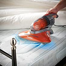 VonHaus UV Handheld Vacuum Cleaner | 550W | Ideal for Mattresses, Pillows, Curtains, Sofas and Carpets | with Crevice Tool/Brush