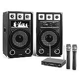 Electronic-Star STAR-12A Public Wireless karaoke system - Karaoke Systems (80 W, Wireless, 100 m, MicroSD (TransFlash), 170 g)
