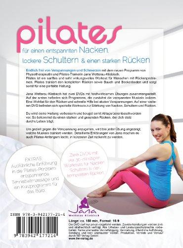 Pilates – für einen entspannten Nacken, lockere Schultern & einen starken Rücken (2 DVDs) - 2
