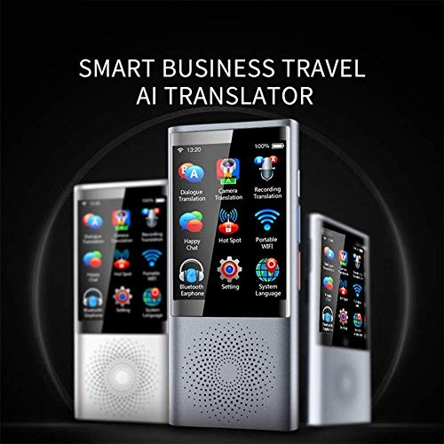 J.KM Intelligentes Übersetzer-Gerät , 2,8-Zoll-Touchscreen 45 Mehrsprachige, Mobile Reise- und Geschäftsübersetzungsgeräte Qvga-touch-screen