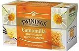 Unidades 20Manzanilla Twinings perfumada Miel y Vainilla Paquete De 20bolsitas de 1,5gr