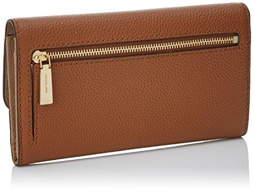 Michael Kors Mercer Large Trifold Wallet, Portefeuilles Marron (Luggage)