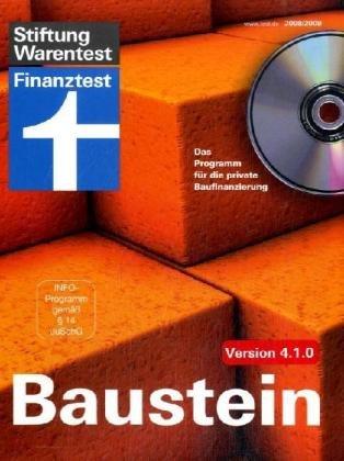 Baustein CD-Rom Version 4.1.0: Das Programm für die private Baufinanzierung